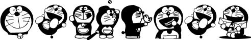 Preview image for Doraemon Font