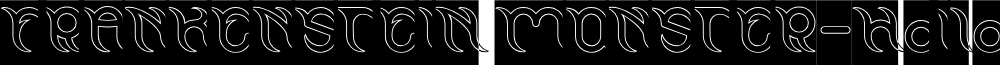 FRANKENSTEIN MONSTER-Hollow-Inv