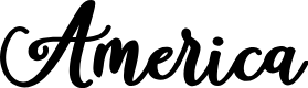 Preview image for America Font