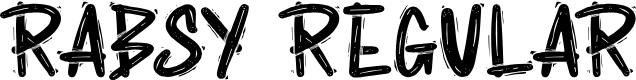 Preview image for Rabsy Regular Font