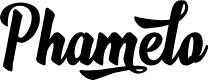 Preview image for Phamelo Font