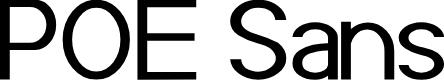 Preview image for POE Sans (Demo) Font