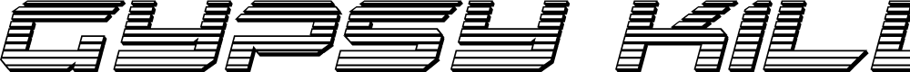 Preview image for Gypsy Killer Chrome Italic