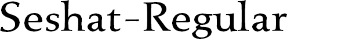 Preview image for Seshat-Regular