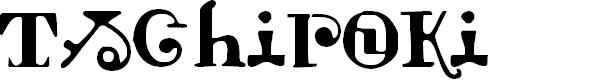 Preview image for Tschiroki Font