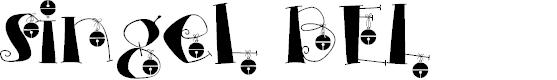 Preview image for singel BEL  Font