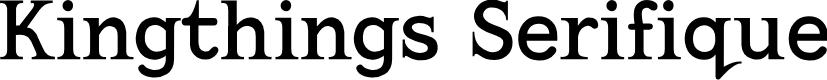 Preview image for Kingthings Serifique