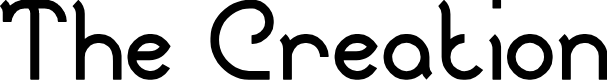 Preview image for The Creation Font