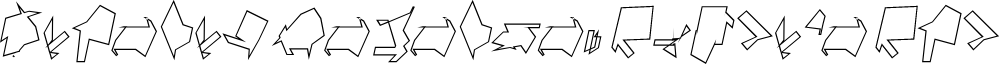 Siberia Reversed Outline Oblique