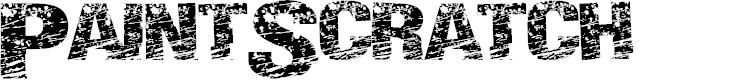 Preview image for PaintScratch Font