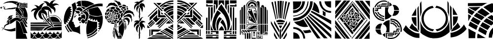 Preview image for ArtDeco Font