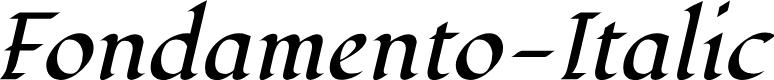 Preview image for Fondamento-Italic