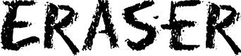 Preview image for Eraser Regular Font