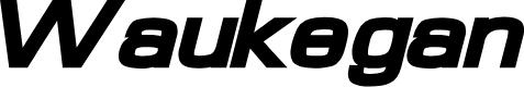 Preview image for Waukegan LDO Extended Black Oblique