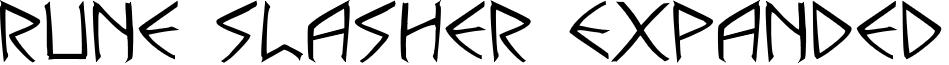 Rune Slasher Expanded