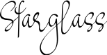 Preview image for Starglass Font