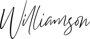 Preview image for Williamson Font
