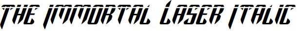 The Immortal Laser Italic