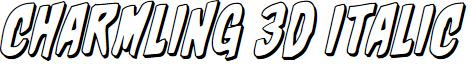 Charmling 3D Italic