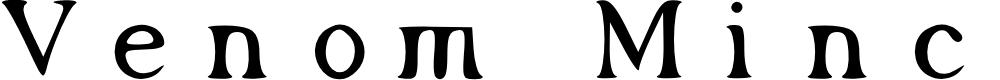 Preview image for Venom Mincho Font