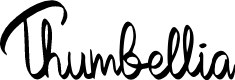 Preview image for Thumbellia Font