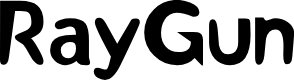 Preview image for RayGun Font