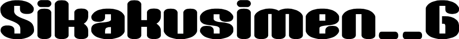 Preview image for Sikakusimen__G Font