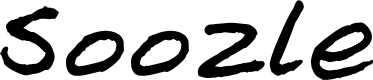 Preview image for Soozle Font
