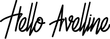 Preview image for Hello Avelline Font