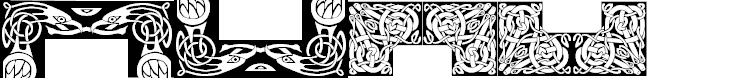 Preview image for Celtic Frames Font