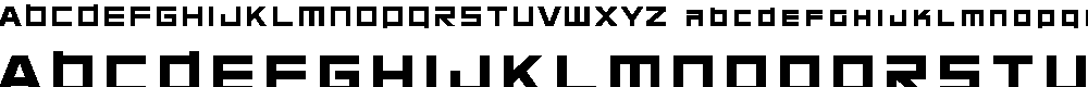 Preview image for Chubu 08 Normal Font