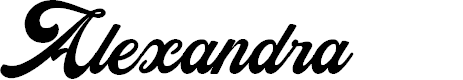 Preview image for Alexandra Personal Use Regular