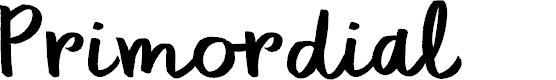 Preview image for DK Primordial Regular Font