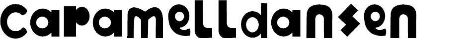 Preview image for Caramelldansen Font