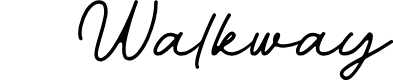 Preview image for Walkway Font