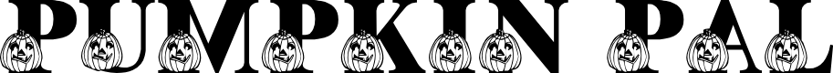 Preview image for LMS Pumpkin Pal Font