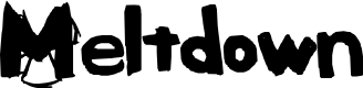 Preview image for Meltdown Font