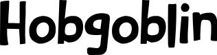 Preview image for DKHobgoblin Font