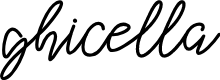 Preview image for ghicella Font