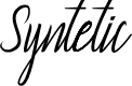 Preview image for Syntetic Font