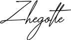 Preview image for Zhegotte Font