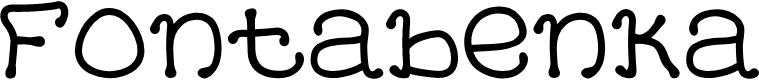 Preview image for Fontabenka Font