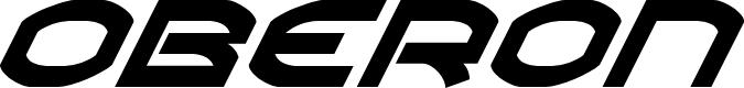 Preview image for Oberon Super-Italic