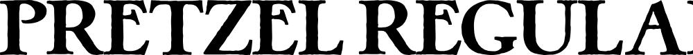 Preview image for Pretzel Regular Font