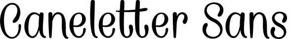 Preview image for CaneletterSansPersonalUse Font