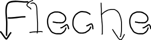 Preview image for Fleche Font