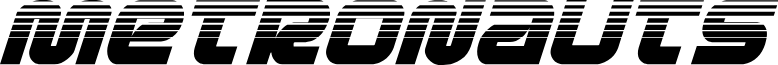 Metronauts Halftone Italic