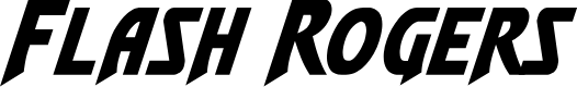 Preview image for Flash Rogers Italic