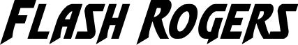 Flash Rogers Italic