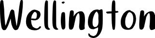 Preview image for Wellington Font